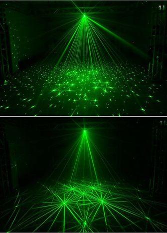 alternatief vuurwerk: lasers