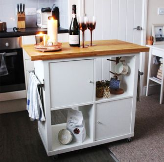 Ikea hack Kallax keukeneiland