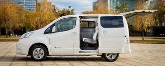 Nissan e-NV200 Evalia elektrische auto