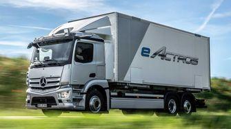 Elektrische vrachtwagen Mercedes-Benz