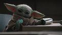 Baby Yoda Blauwe Makron