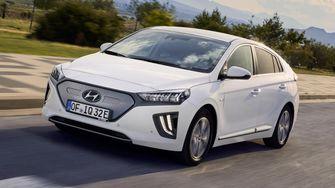 Hyundai Ionic electric car