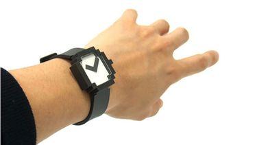 Pixel Watch 8bit horloge van MoMa