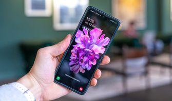 Samsung Galaxy Z Flip scherm