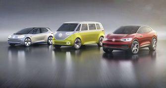 Volkwagen elektrische auto's voor Roadmap E