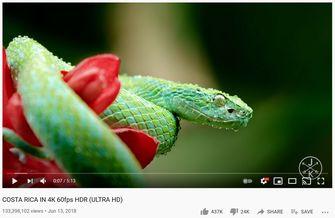 HDR-ondersteuning YouTube