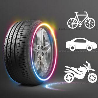 led-licht voor autobanden