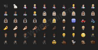 WhatsApp Emoji nieuw