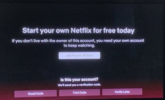 Netflix account delen