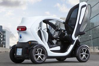 Renault Twizy elektrische auto