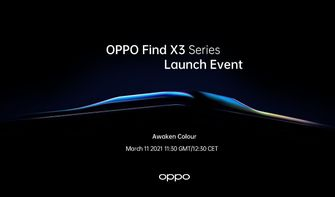 Oppo Find X3 event