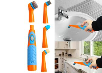 schoonmaak elektrische tandenborstel