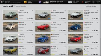 Gran Turismo 7 wagens