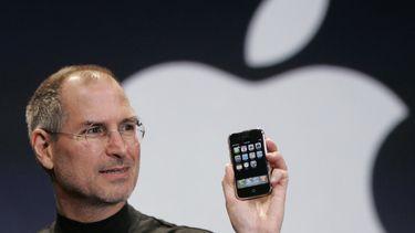 eerste iphone Steve Jobs public speaking