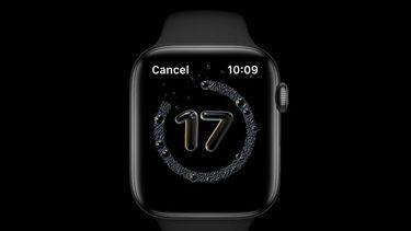 Apple Watch met timer