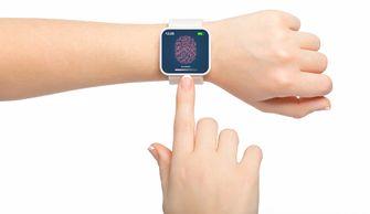 smartwatch vingerafdrukscanner