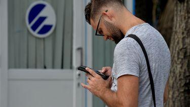 Smartphone gebruik