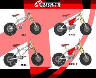 Xtrada mountainbikes
