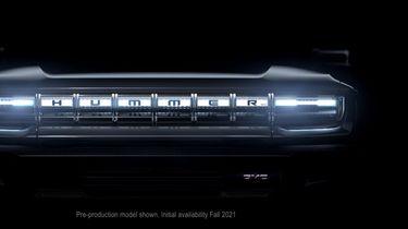 GMC Hummer elektrische auto