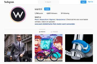 WANT Instagram account