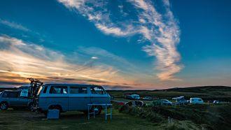 Volkswagen T2 kamperen