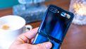 Samsung Galaxy Z Flip selfiescherm