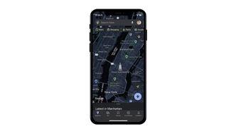 Google Maps Dark Mode iOS
