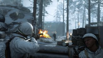 Call of duty WW2 Winter Siege