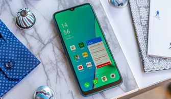 Oppo A9 2020 review voorkant