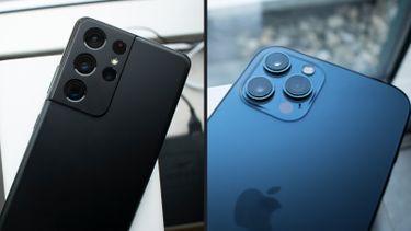 iPhone 12 Pro Max vs Galaxy S21 Ultra