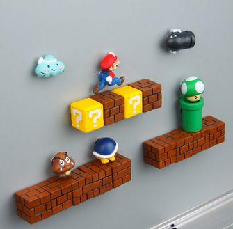 Koelkast magneet Mario