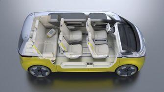 elektrische Volkswagen Microbus