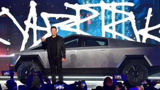 Elon Musk Tesla Cyber truck