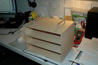 Ikea hack miniladekast