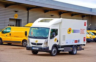 Renault Trucks Electric Maxity