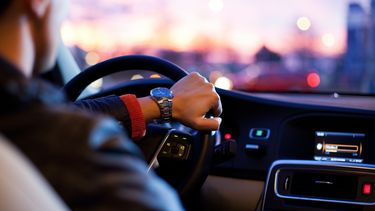 Auto rijden koptelefoon