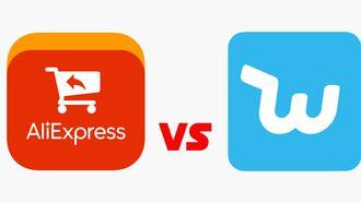 aliexpress wish versus vs