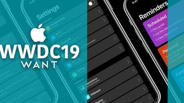 WWDC19 Apple iOS 13 Dark Mode