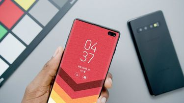 Galaxy S10 Plus MKBHD prototype