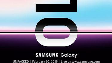 Samsung Galaxy S10 onthulling
