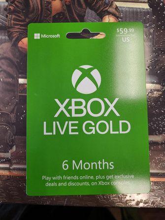 Microsoft Xbox Live Gold