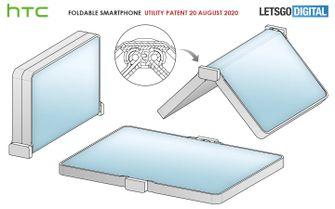 HTC opvouwbare smartphone