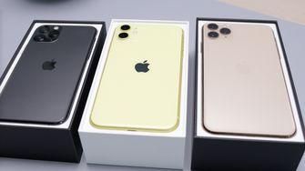 Verschillende modellen Apple