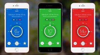 Kelvin K2 wijn termperatuur app