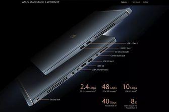 Asus Studiobook S Macbook Pro-Killer