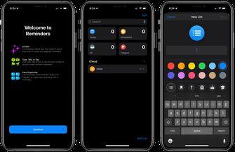 Dark Mode voor Apple iPhone