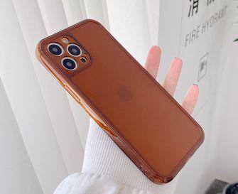 bruin transparant iPhone case