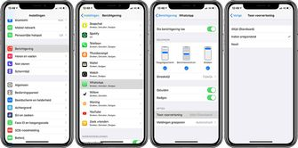 Whatsapp lockscreen