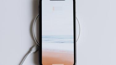 smartphone opladen QI draadloos