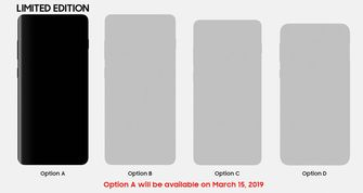 Samsung Galaxy S10 modellen preorder